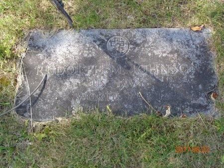 JOHNSON, RUDOLPH M. - Marquette County, Michigan | RUDOLPH M. JOHNSON - Michigan Gravestone Photos