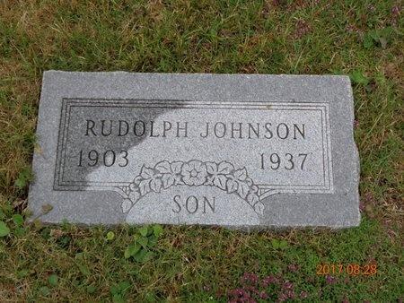 JOHNSON, RUDOLPH - Marquette County, Michigan | RUDOLPH JOHNSON - Michigan Gravestone Photos