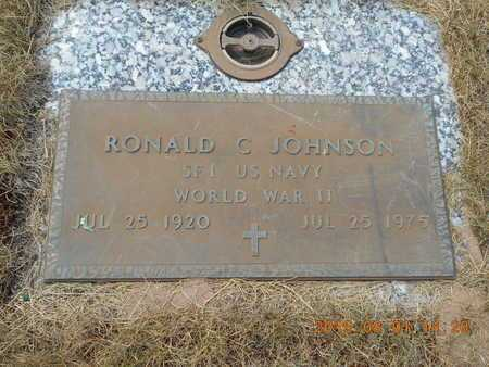 JOHNSON, RONALD C. - Marquette County, Michigan | RONALD C. JOHNSON - Michigan Gravestone Photos
