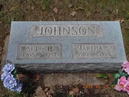 JOHNSON, MARTHA S. - Marquette County, Michigan | MARTHA S. JOHNSON - Michigan Gravestone Photos
