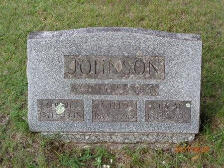 JOHNSON, GUSTAF - Marquette County, Michigan | GUSTAF JOHNSON - Michigan Gravestone Photos