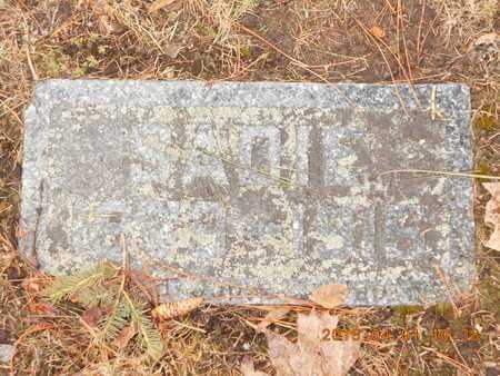 JOHNSON, SADIE - Marquette County, Michigan | SADIE JOHNSON - Michigan Gravestone Photos