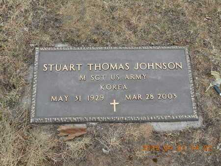 JOHNSON, STUART THOMAS - Marquette County, Michigan | STUART THOMAS JOHNSON - Michigan Gravestone Photos