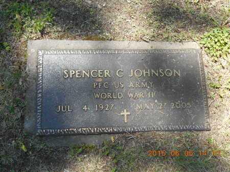 JOHNSON, SPENCER C. - Marquette County, Michigan   SPENCER C. JOHNSON - Michigan Gravestone Photos