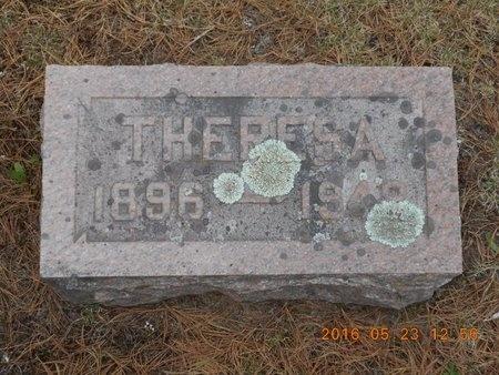 JOHNSON, THERESA - Marquette County, Michigan   THERESA JOHNSON - Michigan Gravestone Photos