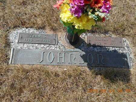 JOHNSON, TENA S. - Marquette County, Michigan | TENA S. JOHNSON - Michigan Gravestone Photos