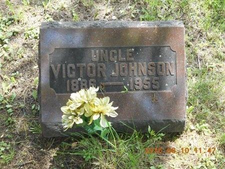 JOHNSON, VICTOR - Marquette County, Michigan   VICTOR JOHNSON - Michigan Gravestone Photos