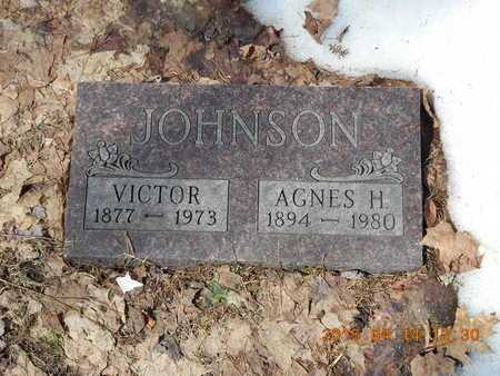 JOHNSON, VICTOR - Marquette County, Michigan | VICTOR JOHNSON - Michigan Gravestone Photos