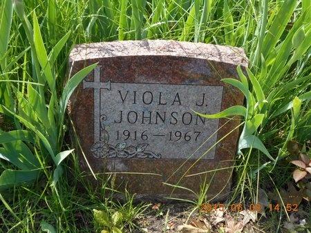 JOHNSON, VIOLA J. - Marquette County, Michigan | VIOLA J. JOHNSON - Michigan Gravestone Photos