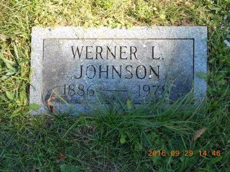 JOHNSON, WERNER L. - Marquette County, Michigan   WERNER L. JOHNSON - Michigan Gravestone Photos