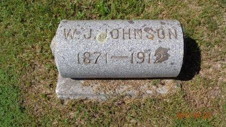 JOHNSON, W.J. - Marquette County, Michigan | W.J. JOHNSON - Michigan Gravestone Photos