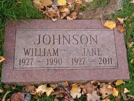 JOHNSON, JANE - Marquette County, Michigan | JANE JOHNSON - Michigan Gravestone Photos