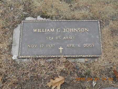 JOHNSON, WILLIAM G. - Marquette County, Michigan | WILLIAM G. JOHNSON - Michigan Gravestone Photos