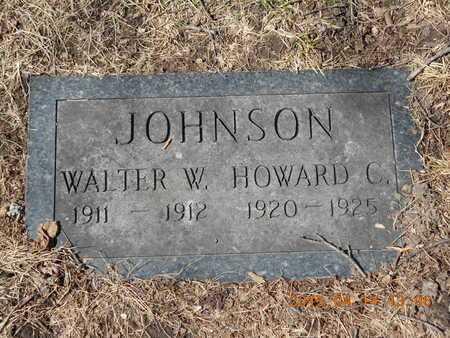 JOHNSON, WALTER W. - Marquette County, Michigan | WALTER W. JOHNSON - Michigan Gravestone Photos