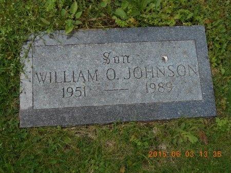 JOHNSON, WILLIAM O. - Marquette County, Michigan | WILLIAM O. JOHNSON - Michigan Gravestone Photos