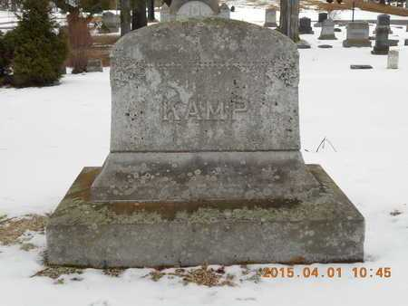 KAMP, FAMILY - Marquette County, Michigan   FAMILY KAMP - Michigan Gravestone Photos