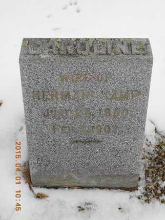 BECKER KAMP, LENA CAROLINE - Marquette County, Michigan   LENA CAROLINE BECKER KAMP - Michigan Gravestone Photos