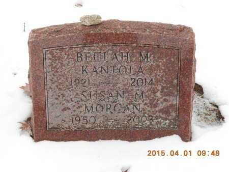 MORGAN, SUSAN MARIE - Marquette County, Michigan   SUSAN MARIE MORGAN - Michigan Gravestone Photos