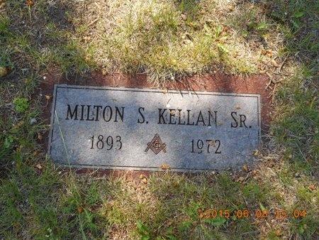 KELLAN, SR., MILTON S. - Marquette County, Michigan   MILTON S. KELLAN, SR. - Michigan Gravestone Photos