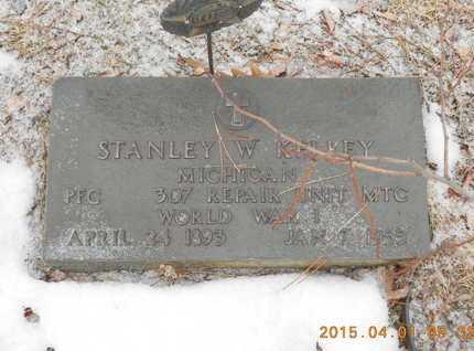 KELLEY, STANLEY W. - Marquette County, Michigan | STANLEY W. KELLEY - Michigan Gravestone Photos