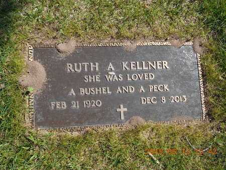 KELLNER, RUTH A. - Marquette County, Michigan | RUTH A. KELLNER - Michigan Gravestone Photos