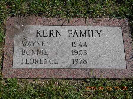KERN, WAYNE - Marquette County, Michigan | WAYNE KERN - Michigan Gravestone Photos