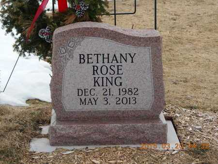PITTMAN KING, BETHANY ROSE - Marquette County, Michigan | BETHANY ROSE PITTMAN KING - Michigan Gravestone Photos