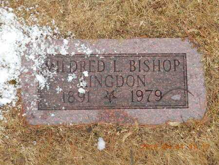 BISHOP KINGDON, MILDRED L. - Marquette County, Michigan | MILDRED L. BISHOP KINGDON - Michigan Gravestone Photos