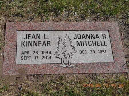 KINNEAR, JEAN L. - Marquette County, Michigan   JEAN L. KINNEAR - Michigan Gravestone Photos