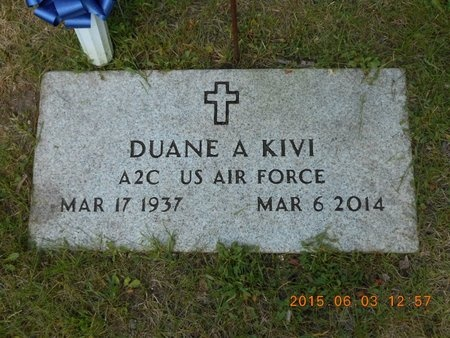 KIVI, DUANE A. - Marquette County, Michigan | DUANE A. KIVI - Michigan Gravestone Photos