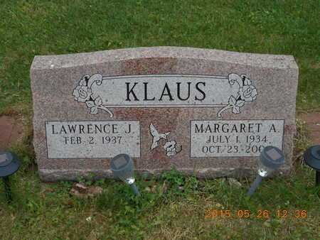 KLAUS, MARGARET A. - Marquette County, Michigan | MARGARET A. KLAUS - Michigan Gravestone Photos