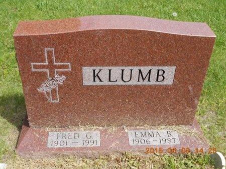 KLUMB, EMMA B. - Marquette County, Michigan | EMMA B. KLUMB - Michigan Gravestone Photos