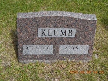 KLUMB, ARDIS L. - Marquette County, Michigan | ARDIS L. KLUMB - Michigan Gravestone Photos