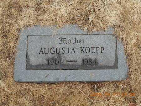 KOEPP, AUGUSTA E. - Marquette County, Michigan | AUGUSTA E. KOEPP - Michigan Gravestone Photos