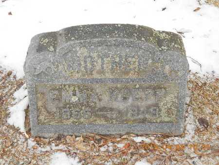 KOEPP, EMMA - Marquette County, Michigan   EMMA KOEPP - Michigan Gravestone Photos