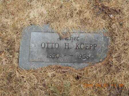 KOEPP, OTTO H. - Marquette County, Michigan | OTTO H. KOEPP - Michigan Gravestone Photos