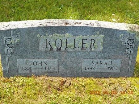 KOLLER, JOHN - Marquette County, Michigan   JOHN KOLLER - Michigan Gravestone Photos