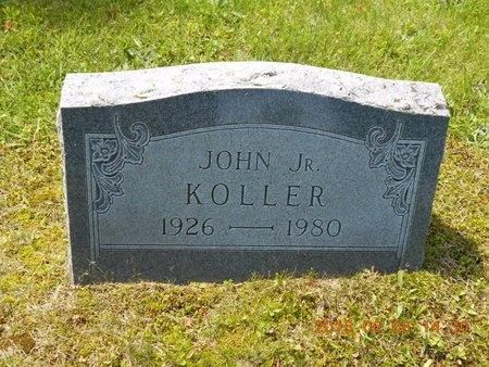 KOLLER, JR., JOHN - Marquette County, Michigan | JOHN KOLLER, JR. - Michigan Gravestone Photos