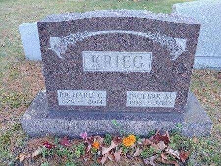 KRIEG, PAULINE M. - Marquette County, Michigan | PAULINE M. KRIEG - Michigan Gravestone Photos