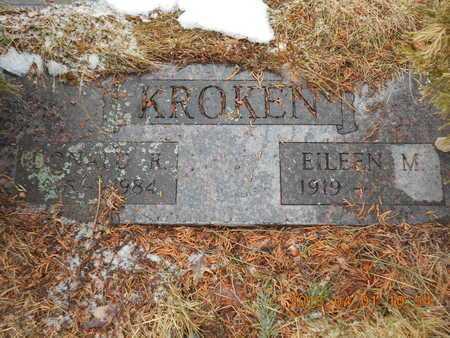 KROKEN, DONALD R. - Marquette County, Michigan | DONALD R. KROKEN - Michigan Gravestone Photos