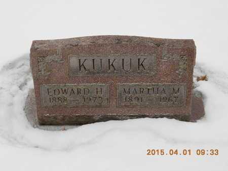 KUKUK, MARTHA M. - Marquette County, Michigan   MARTHA M. KUKUK - Michigan Gravestone Photos