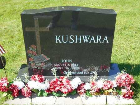 KUSHWARA, JOHN - Marquette County, Michigan | JOHN KUSHWARA - Michigan Gravestone Photos