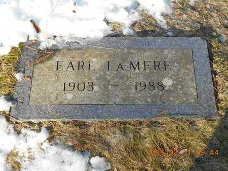 LA MERE, EARL - Marquette County, Michigan | EARL LA MERE - Michigan Gravestone Photos