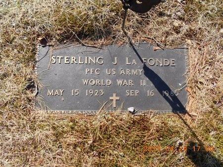 LAFONDE, STERLING J. - Marquette County, Michigan   STERLING J. LAFONDE - Michigan Gravestone Photos