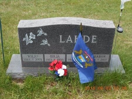 LAHDE, FAMILY - Marquette County, Michigan   FAMILY LAHDE - Michigan Gravestone Photos