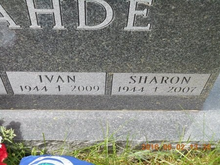 LAHDE, SHARON - Marquette County, Michigan   SHARON LAHDE - Michigan Gravestone Photos