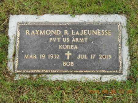 LAJEUNESSE, RAYMOND R. - Marquette County, Michigan | RAYMOND R. LAJEUNESSE - Michigan Gravestone Photos
