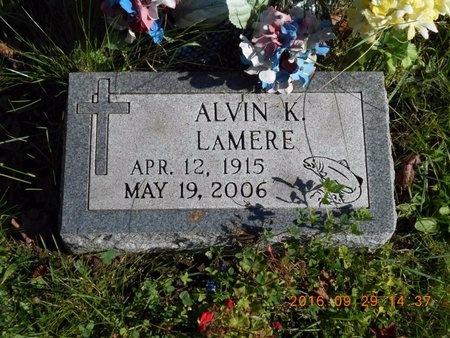LAMERE, ALVIN K. - Marquette County, Michigan | ALVIN K. LAMERE - Michigan Gravestone Photos