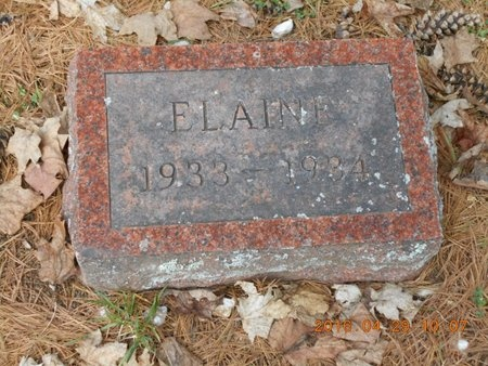 LAMERE, ELAINE - Marquette County, Michigan | ELAINE LAMERE - Michigan Gravestone Photos