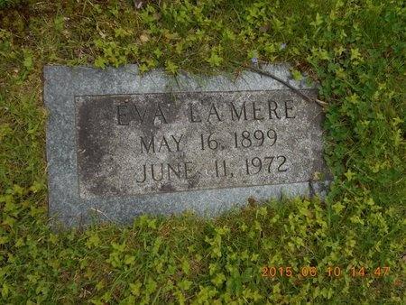 LAMERE, EVA - Marquette County, Michigan   EVA LAMERE - Michigan Gravestone Photos
